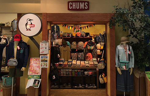 CHUMS Shop in shop ベースキャンプゆめタウン店