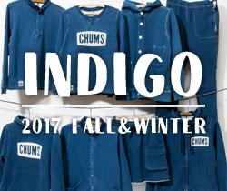 独特な風合いを醸し出すインディゴシリーズ秋冬新作