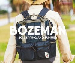クラシックなデザインで機能性とタフさを兼ね備えたチャムスのリュック・バックパックシリーズ「BOZEMAN」