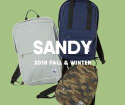2018春夏から登場の新シリーズSANDY