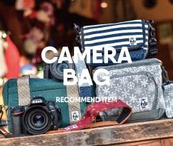 カメラ女子にもおすすめ!チャムスのおしゃれカワイイカメラバッグ!