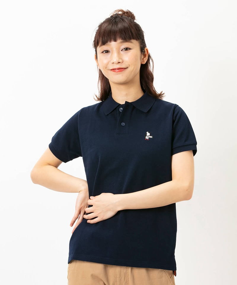 Booby Polo Shirt(ブービーポロシャツ(トップス/ポロシャツ))
