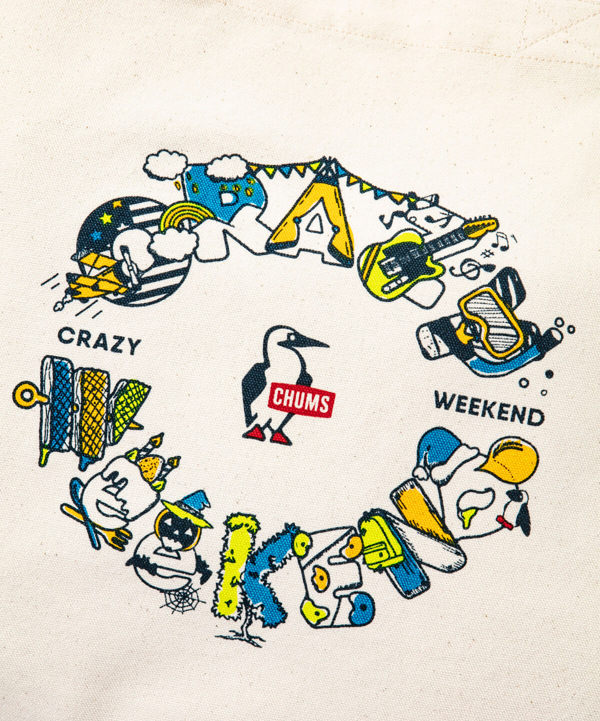 Crazy Weekend Canvas Tote(クレイジーウィークエンドキャンバストート(トートバッグ))