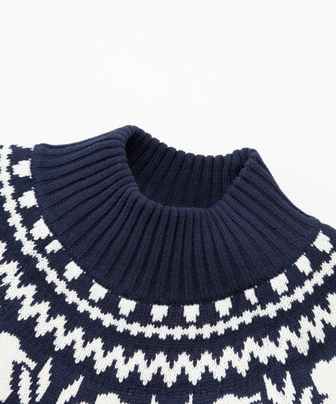 Nordic Knit Top Women's