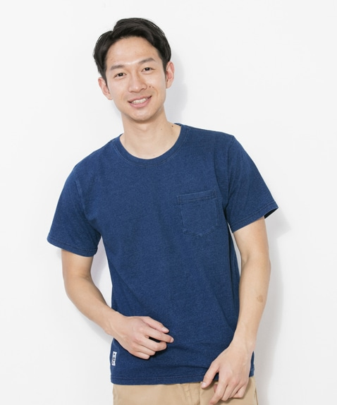 Utah Pocket T-Shirt Indigo