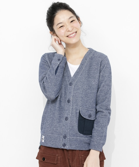 Flap Pocket Cardigan Women's