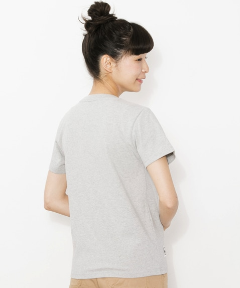 Pocket T-Shirt Sweat Nylon Women's
