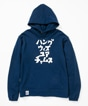 Katakana Pull Over Parka Women's