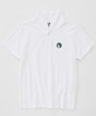 Booby Wappen Shawl Polo Shirt