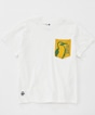 Booby in Sweat Pocket White T-Shirt