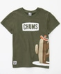 Cactus And CHUMS Logo T-Shirt