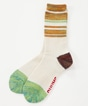 Color Block Wool Boots Socks