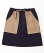 Corduroy Painter Skirt