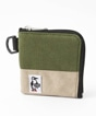 Square Coin Case Sweat Nylon