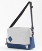 Square Shoulder Bag Sweat Nylon