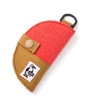 Half-moon Key Case Sweat Nylon
