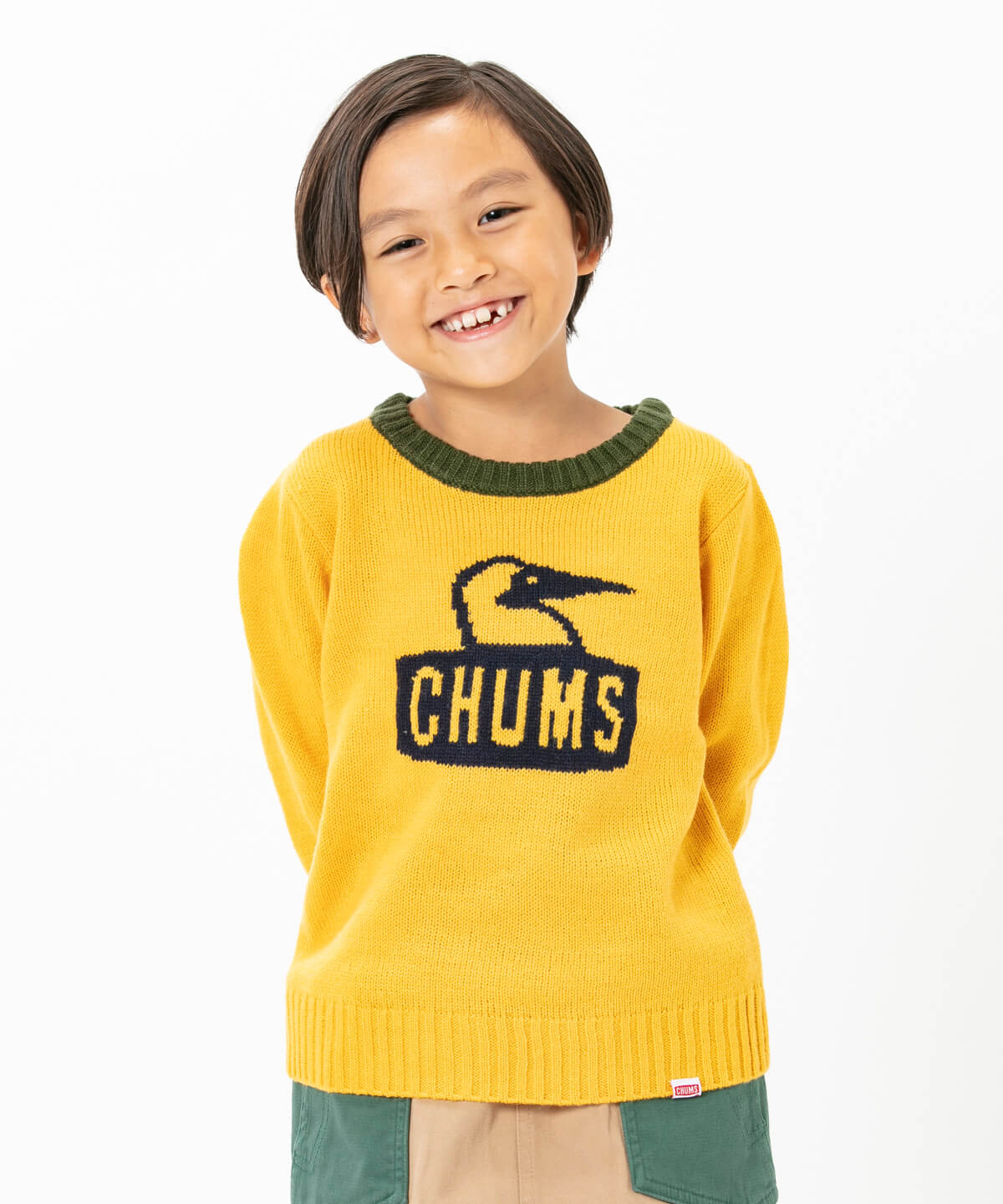 Kid's Cyclone Knit Crew Top(キッズサイクロンニットクルートップ(キッズ|トップス|ニット))