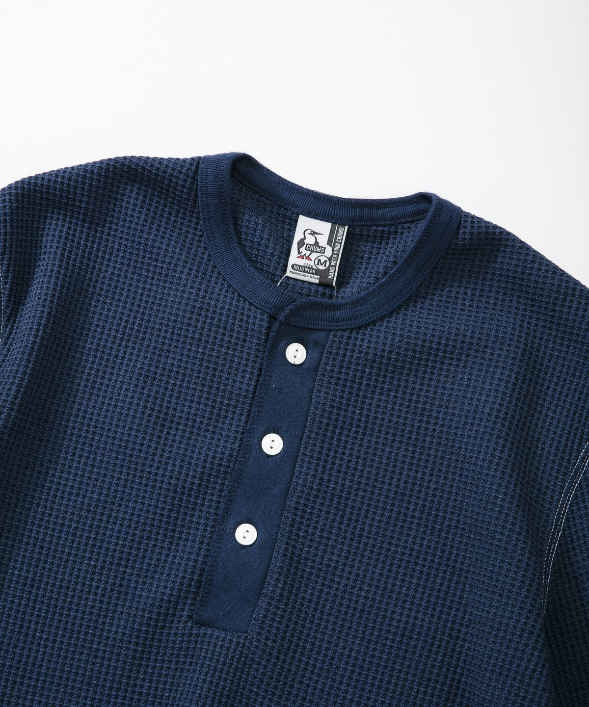 Waffle Henley Top(ワッフルヘンリートップ(トップス/カットソー))