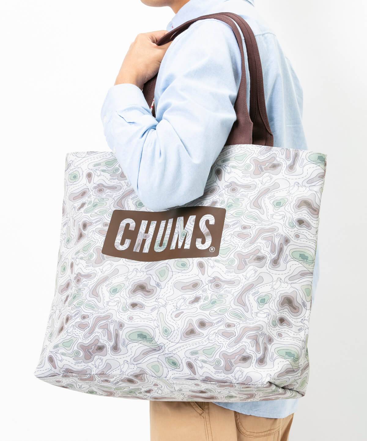 Eco CHUMS Logo Tote Bag(エコチャムスロゴトートバッグ(トートバッグ))