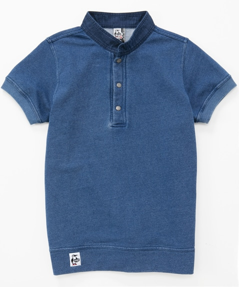 S/S Hurricane Top Indigo