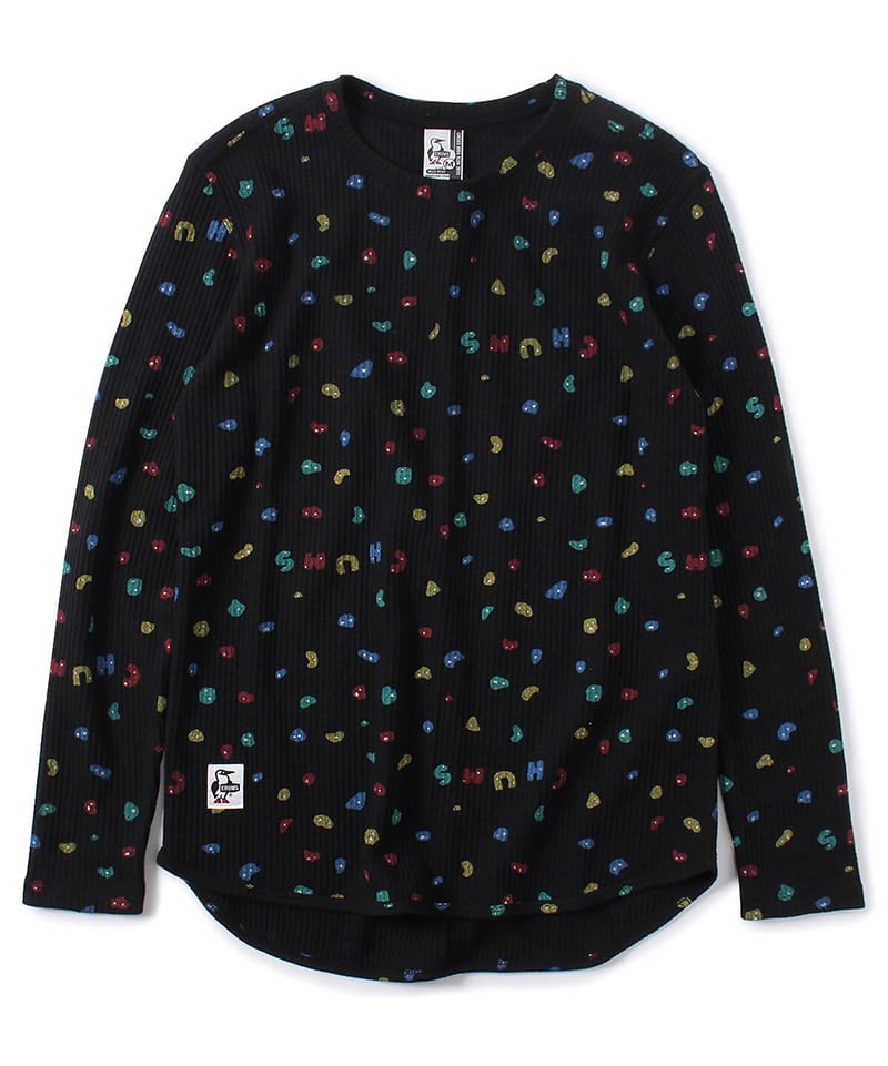 Waffle L/S T-Shirt(ワッフルロングTシャツ(トップス/カットソー))