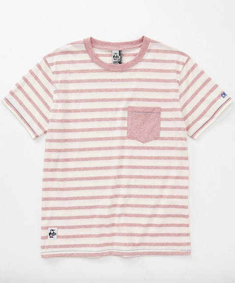Botanical Border Pocket T-Shirt