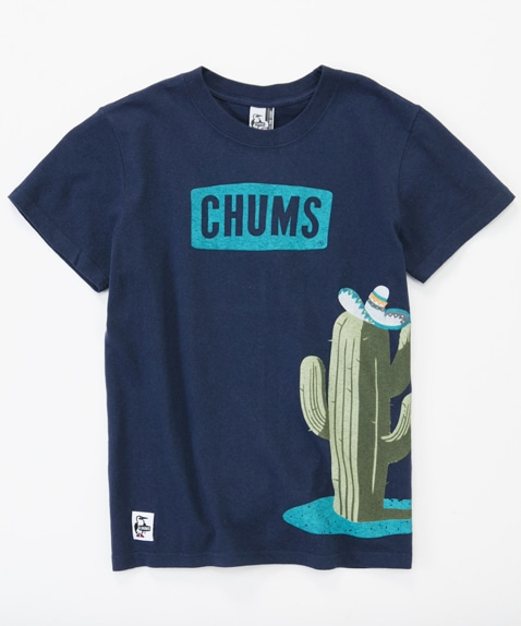 Cactus And CHUMS Logo T-Shirt Women's
