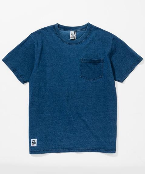 ユタポケットTシャツインディゴ(Tシャツ)  [メンズ]