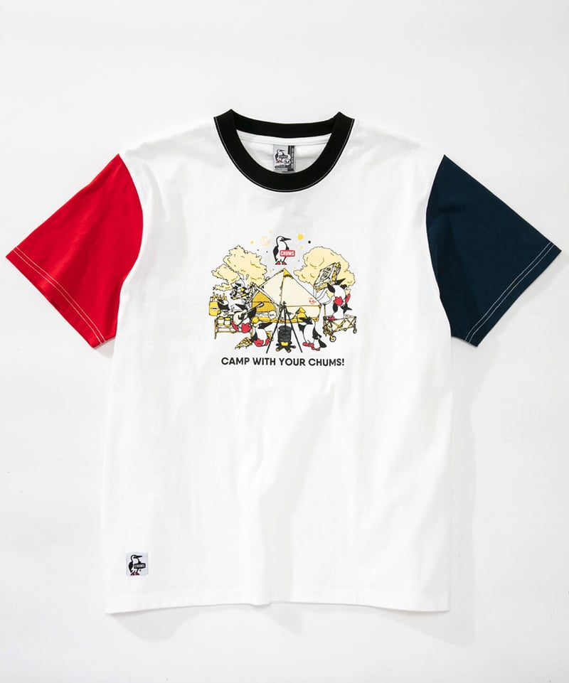Camp With Your CHUMS T-Shirt(キャンプウィズユアチャムスTシャツ(トップス/Tシャツ))