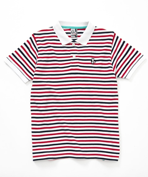 Booby Border Polo Shirt(ブービーボーダーポロシャツ(トップス/ポロシャツ))