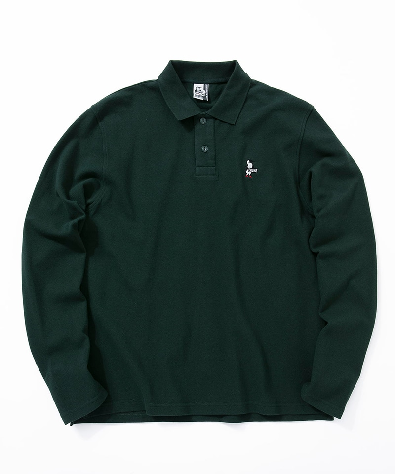 Booby L/S Polo Shirt(ブービーロングスリーブポロシャツ(ポロシャツ))