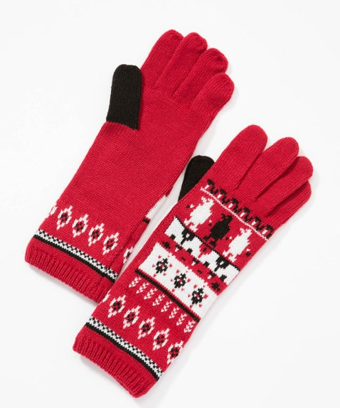 Holiday Chilly Knit Glove