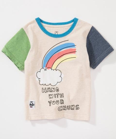 キッズレインボーTシャツ