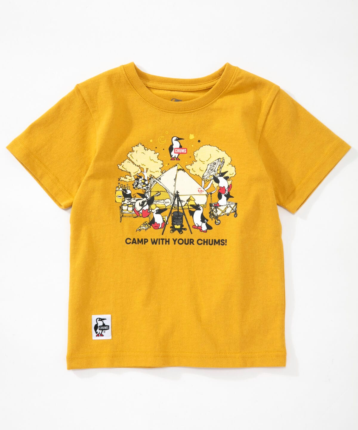 Kid's Camp With Your CHUMS T-Shirt(キッズキャンプウィズユアーチャムスTシャツ(キッズ/Tシャツ))