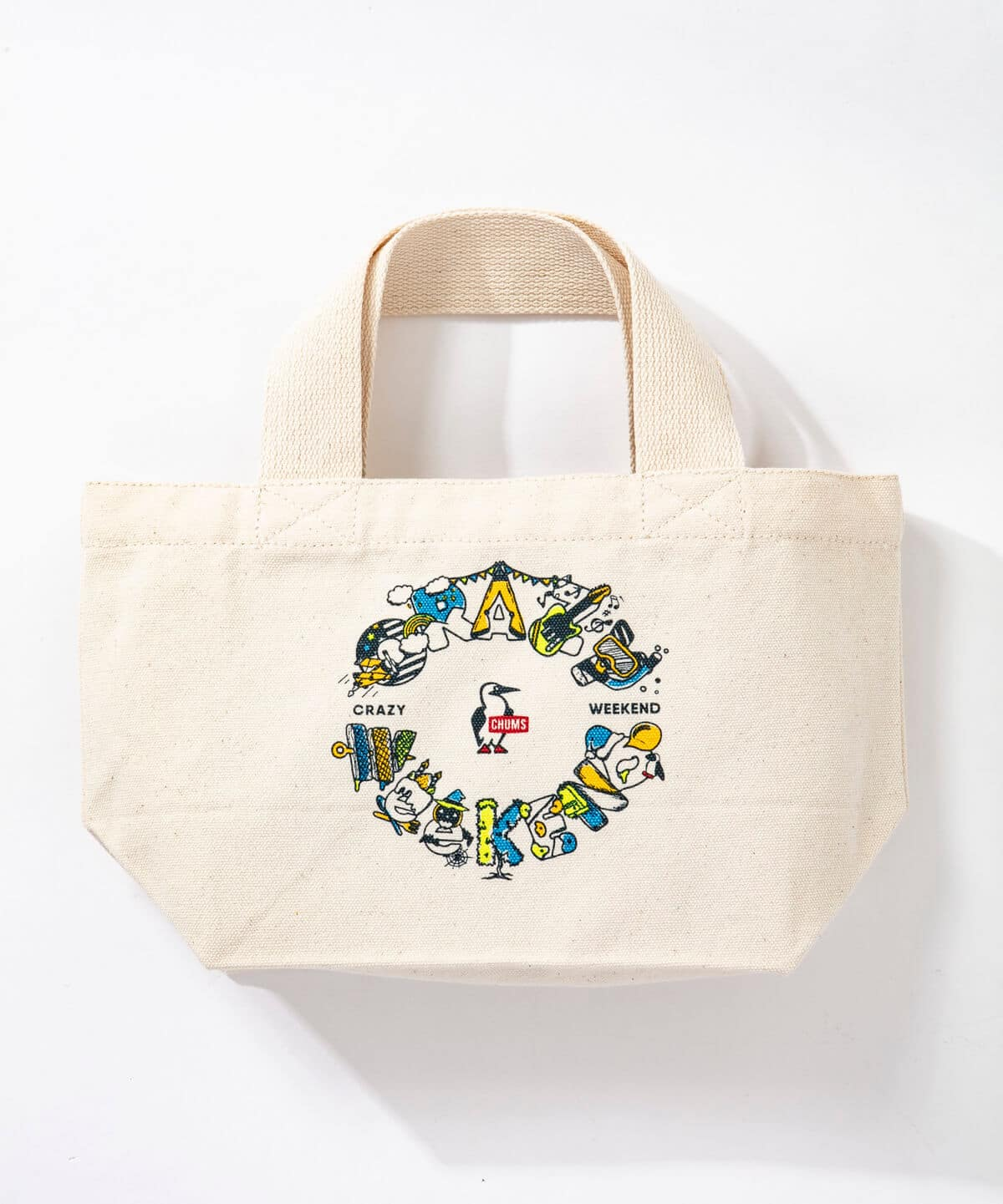 Crazy Weekend Mini Canvas Tote(クレイジーウィークエンドミニキャンバストート(トートバッグ))