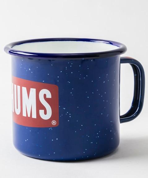 ボートロゴエナメルマグカップ(アウトドア/キッチン用品)