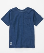 Utah Pocket T-Shirt Indigo Women's(ユタポケットTシャツ)