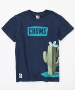 Cactus And CHUMS Logo T-Shirt Women's(カクタスアンドチャムスロゴTシャツ)