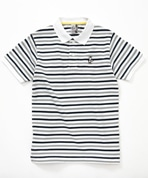Booby Border Polo Shirt Women's(ブービーボーダーポロシャツ)