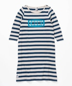 Boat Logo 3/4 Dress