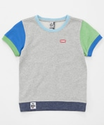 Kid's S/S Booby Logo Crew Top(キッズ半袖ブービーロゴクルートップ)