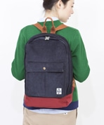 Corduroy Pleated Pocket Day Pack
