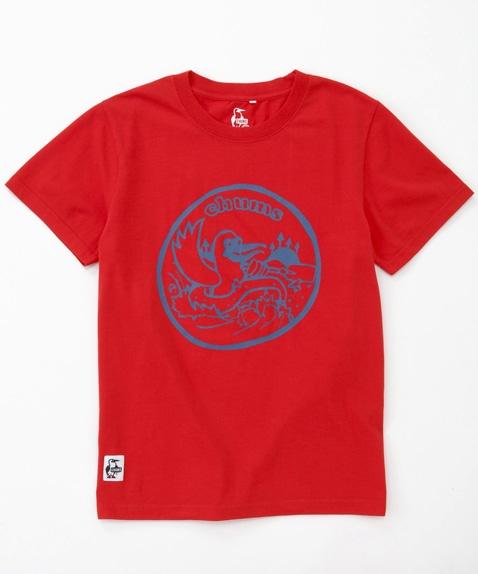 ラフティングロゴドライTシャツ
