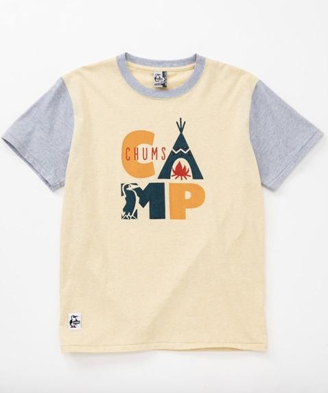 ボタニカルキャンプTシャツ