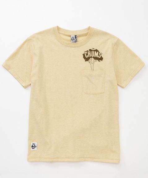 ボタニカルポケットプランティングTシャツ