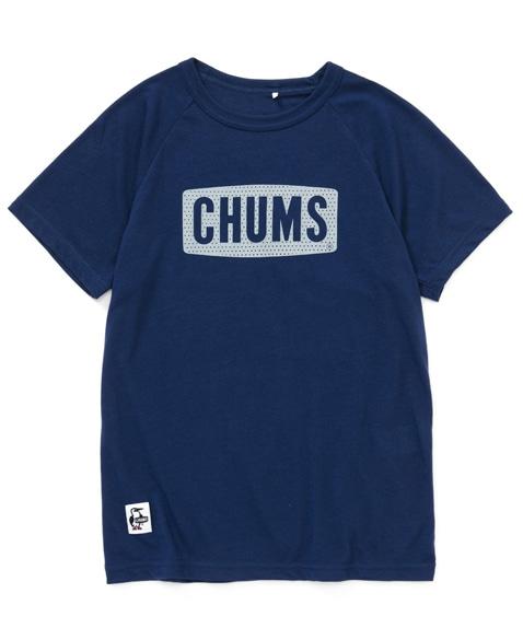 チャムスロゴテックTシャツ