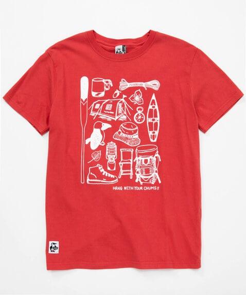 キャンプメモリーズTシャツ