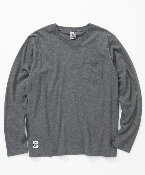 ユタポケット長袖Tシャツ(トップス/カットソー)