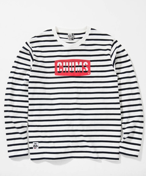 チャムスロゴ長袖Tシャツ(トップス/カットソー)