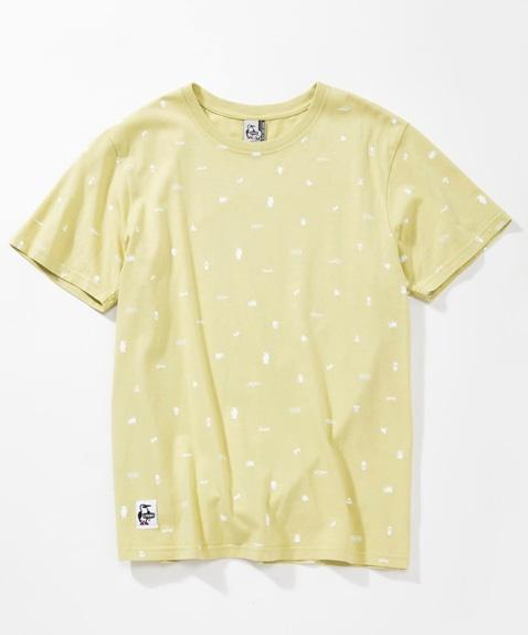リテイナーパターンTシャツ(トップス/Tシャツ)[メンズ]